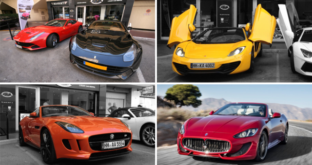 Luxury Car Hire in France