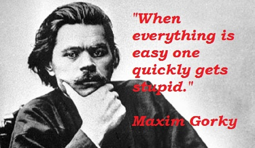 What Did Maxim Gorky Thought About The True Face Of The Russian