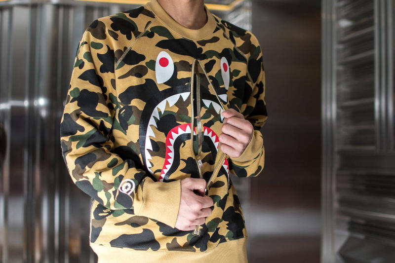 Embrace the Bape camo style